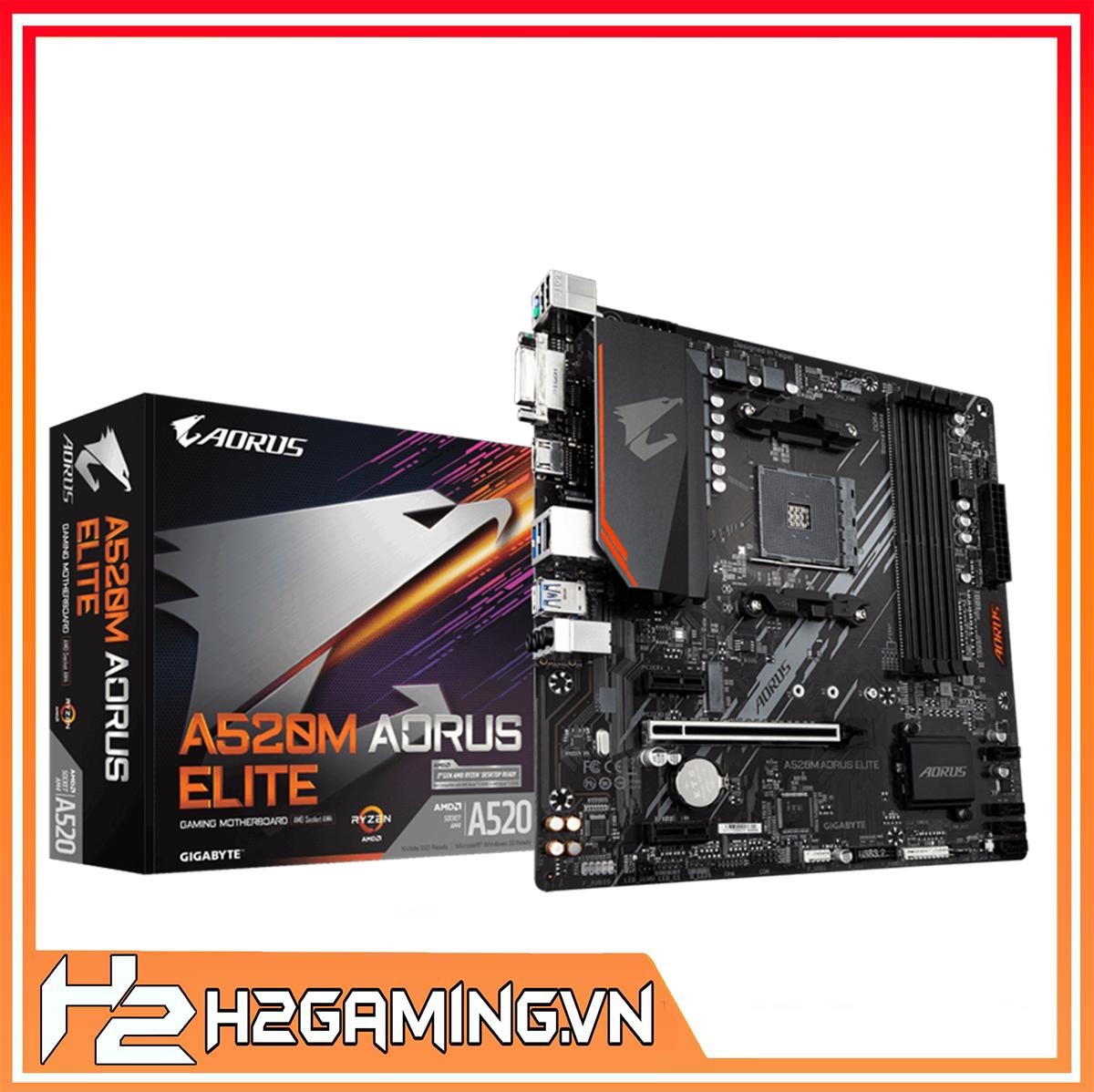 Mainboard_Gigabyte_A520M_AORUS_ELITE_(AMD_A520,_Socket_1200,_m-ATX,_4_khe_RAM_DDR4)