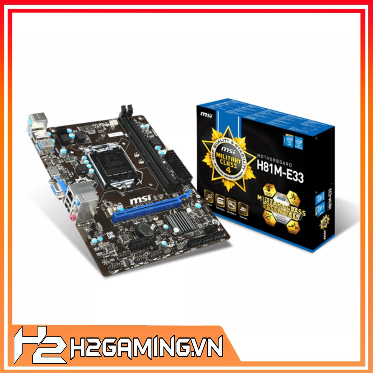 Mainboard_MSI_H81M-E33